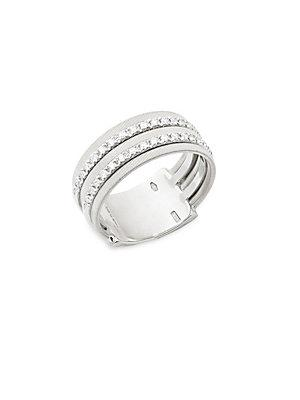 Marco Bicego Diamond And 18k White Gold Ring