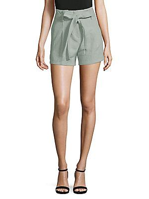 Moon River Front Tie City Shorts