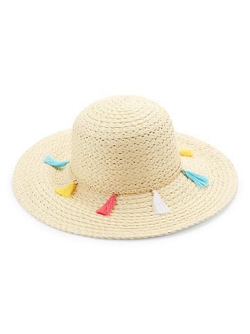 Ava & Aiden Fringe Straw Hat