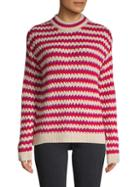 Rebecca Minkoff Striped Roundneck Sweater