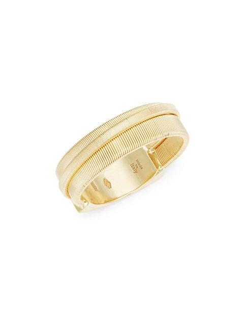Marco Bicego 18k Yellow Gold Textured Band