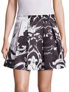 Alice + Olivia Connor Pleated Skirt