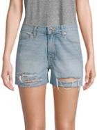 Dtla Distressed Denim Shorts