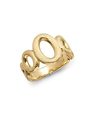 Marco Bicego 18k Yellow Gold Graduated Link Ring
