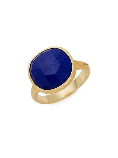 Marco Bicego Jaipur 18k Yellow Gold & Lapis Lazuli Ring