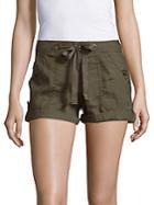 Sanctuary Drawstring Cotton Shorts