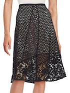Chlo Cotton Lace Skirt