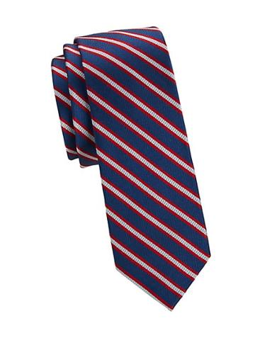 Nhp Diagonal Stripe Silk Tie