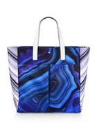 Anya Hindmarch Printed Canvas Tote