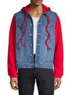 True Religion Long-sleeve Hooded Tracker Jacket