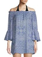 Beach Lunch Lounge Beach Off-the-shoulder Coverup