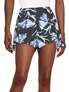 Stylestalker Mulholland Floral-print Shorts