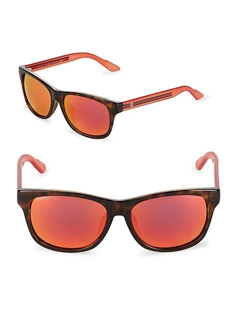 Gucci Tinted 57mm Square Sunglasses