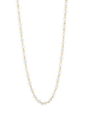 Temple St. Clair Karina Temple St Clair Tanzanite & 18k Yellow Gold Necklace