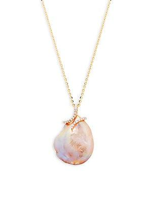 Tara Pearls 20mm Pink Baroque Pearl