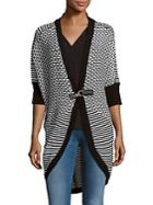 One A Cocoon Long Cardigan