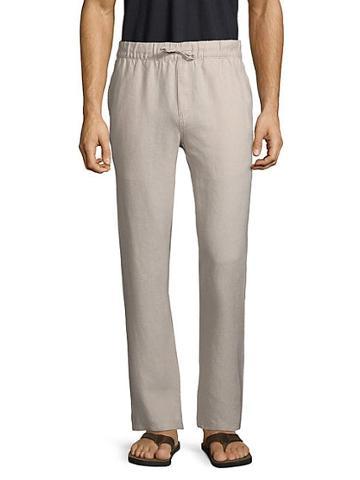 Saks Fifth Avenue Linen Drawstring Pants