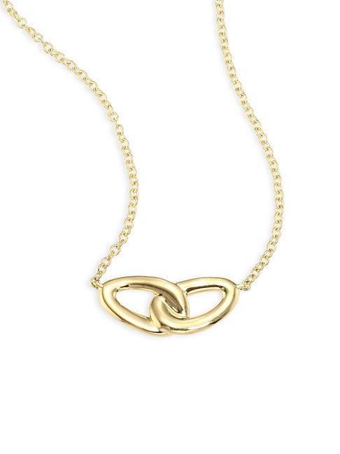 Ippolita Cherish 18k Yellow Gold Intertwine Necklace
