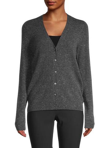 Saks Fifth Avenue V-neck Cashmere Cardigan Sweater