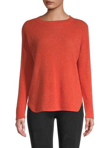 Saks Fifth Avenue Bardot Cashmere Pullover