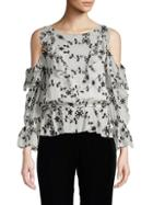 Joie Floral Silk Top