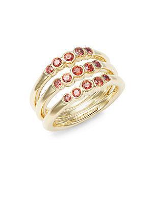 Ippolita 18k Gold & Sapphire Glamazon Ring