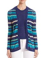 Missoni Colorblock Zigzag Cardigan