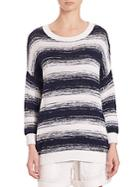 Vince Ombre-striped Pullover
