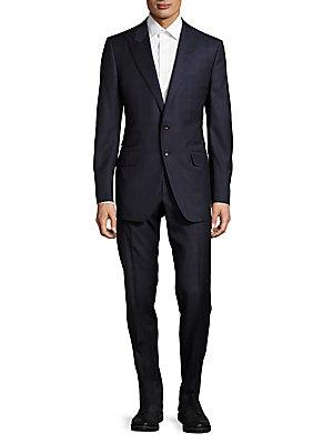 Tom Ford Windowpane Wool Suit