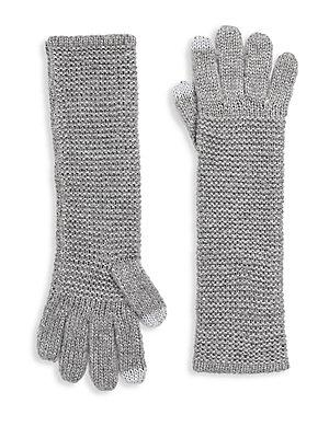 Rebecca Minkoff Garter Stitch Tech Gloves