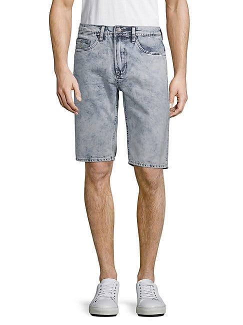 Buffalo David Bitton Dean Straight Denim Shorts