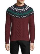 Valentino Multicolored Crewneck Sweater