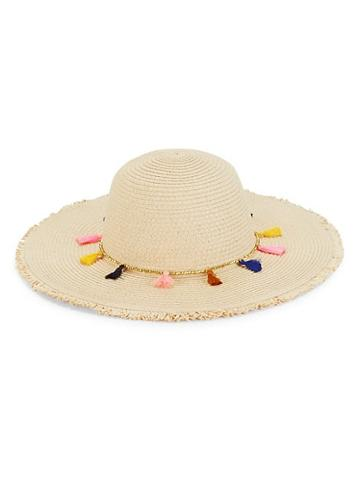 Ava & Aiden Floppy Tassel Hat