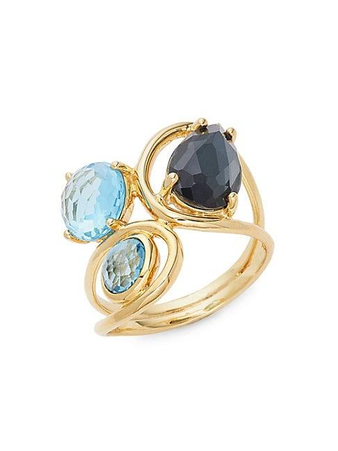 Ippolita 18k Rock Candy 18k Yellow Gold Multi-gemstone Ring