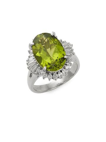 Estate Fine Jewelry Peridot