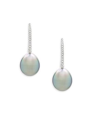 Tara Pearls Black Drop Pearl