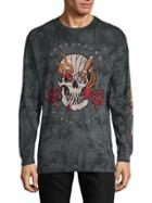 Affliction Graphic Cotton Top
