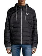 True Religion Hooded Puffer Jacket