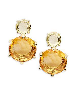 Ippolita 18k Gold Lollipop Dangle & Drop Earrings