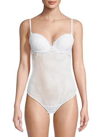 La Perla Lace Panel Bodysuit