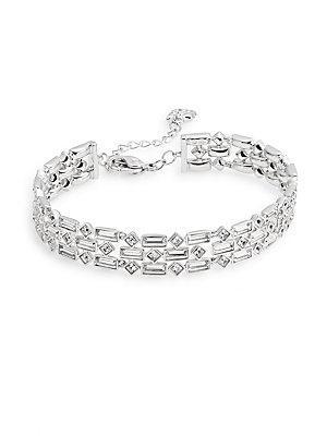 Viola Swarovski Crystal Bracelet