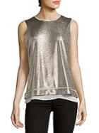 Calvin Klein Metallic Tank Top