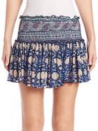 Loveshackfancy Topanga Chiffon Skirt
