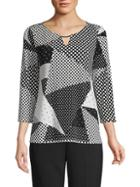 Calvin Klein Graphic Roundneck Top