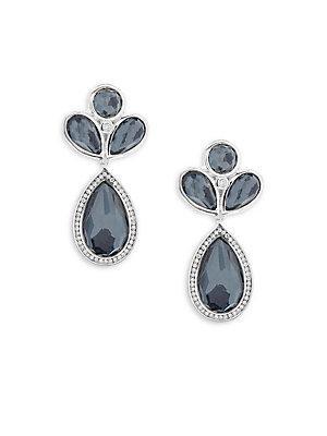 Ippolita Lollipop Multi-stone And Sterling Silver Drop Earrings