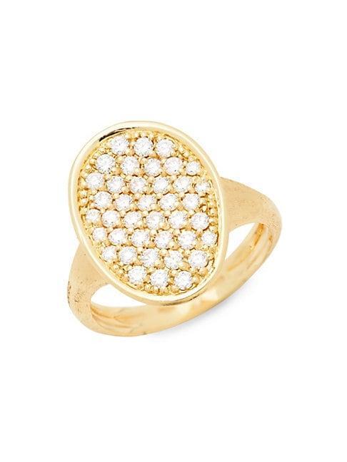 Marco Bicego 18k Yellow Gold & Diamond Ring