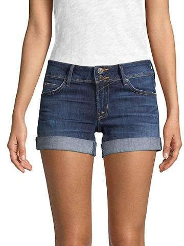 Hudson Jeans Flap-pocket Jean Shorts
