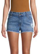 Siwy Cassy Distressed Denim Shorts