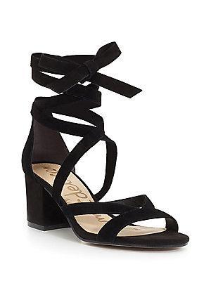 Sam Edelman Sheri Suede Block Heel Sandals
