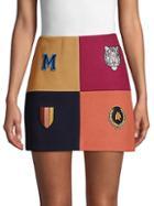 Stella Mccartney Colorblock Mini Skirt